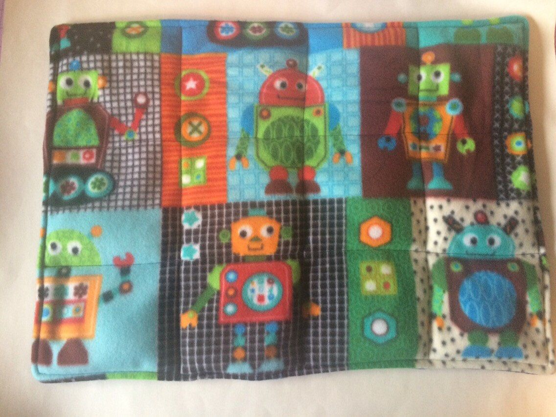 A personal favorite from my Etsy shop https://www.etsy.com/listing/275683254/weighted-blanket-toddler-washable-fleece