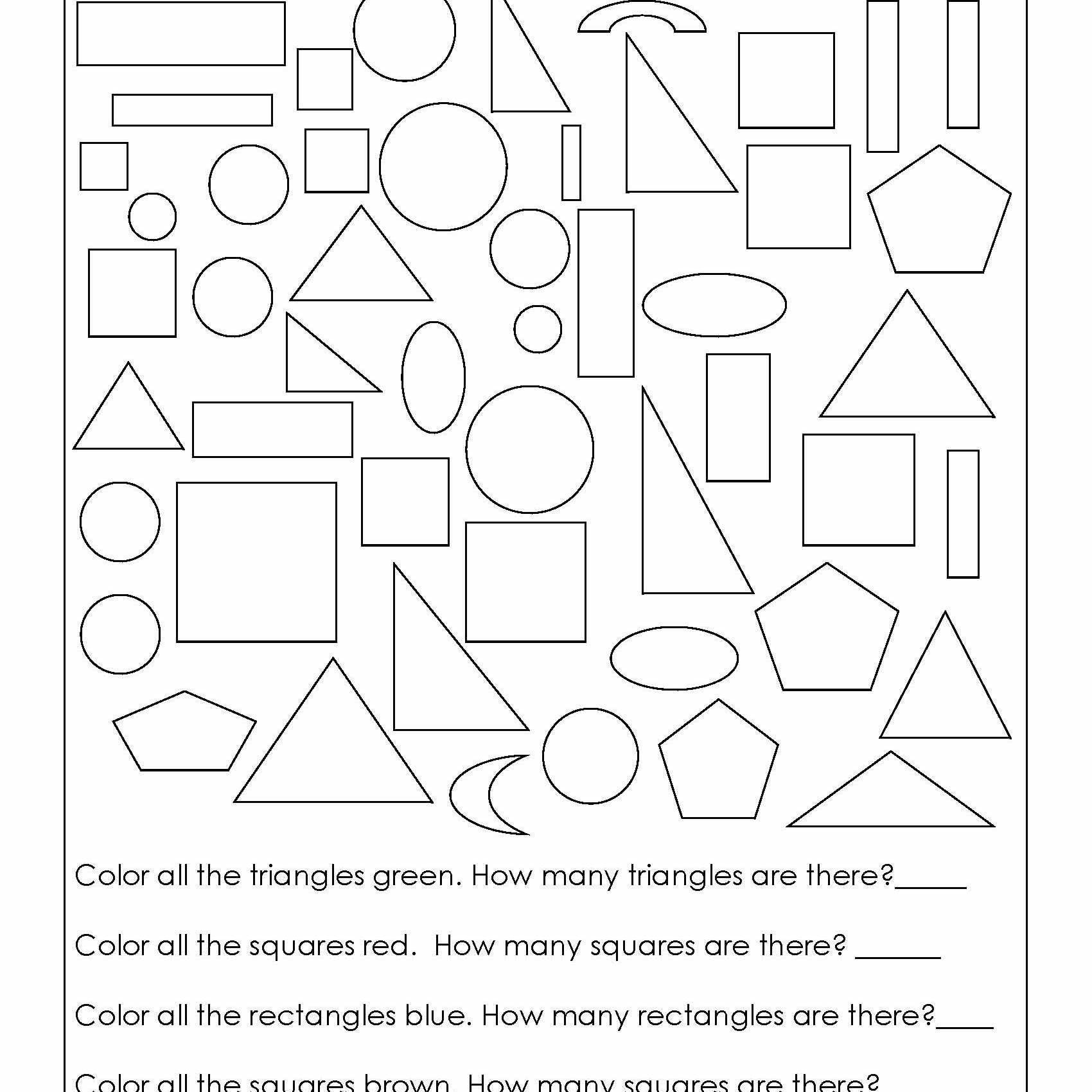 2nd Grade Geometry Worksheets Geometry Worksheets For