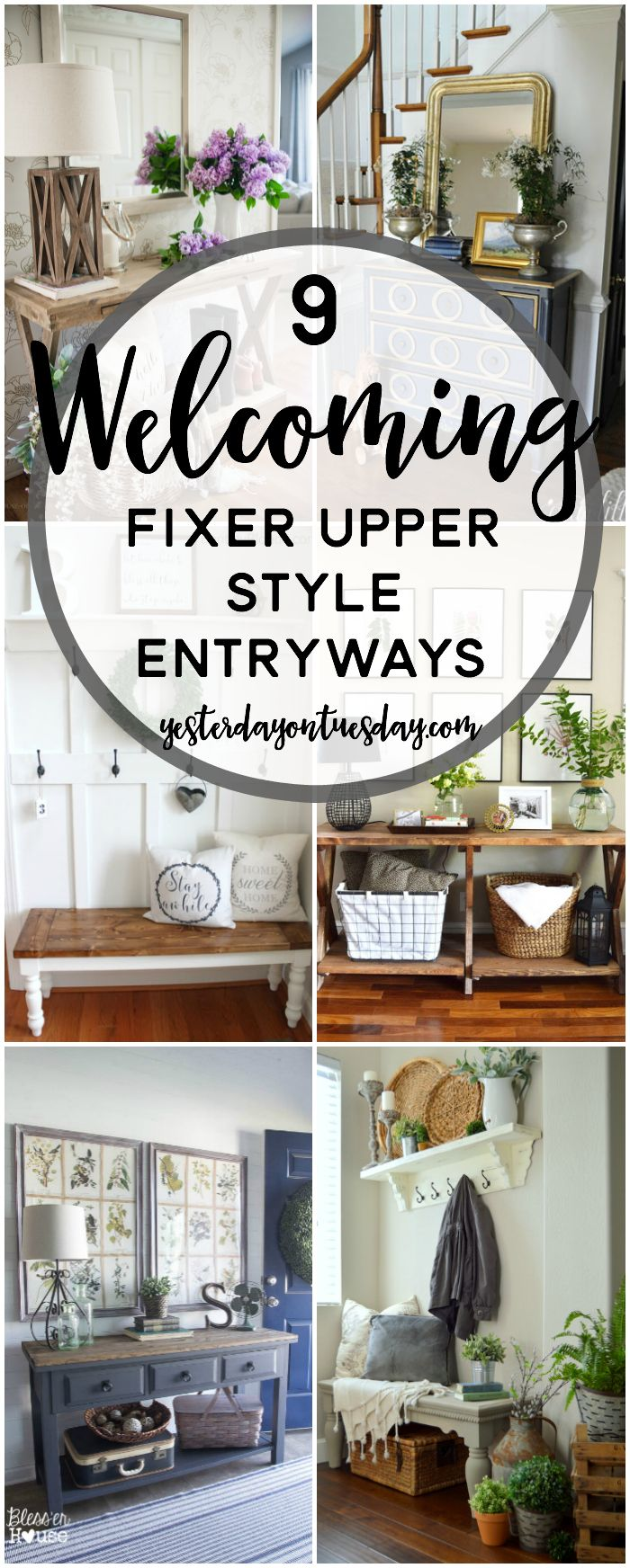 9 Cozy Fixer Upper Style Entryways Hometalk Diy Diy