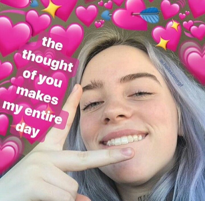 @qxeennn | HEARTMEMES in 2019 | Billie Eilish, Love memes ...