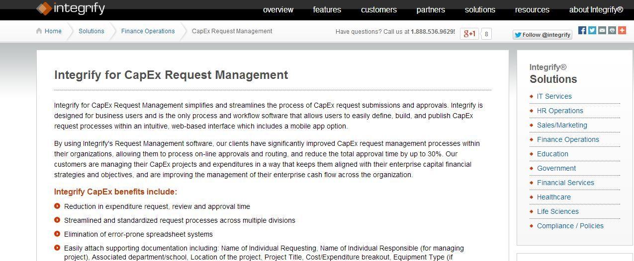 http://www.integrify.com/Solutions/CapEx.aspx