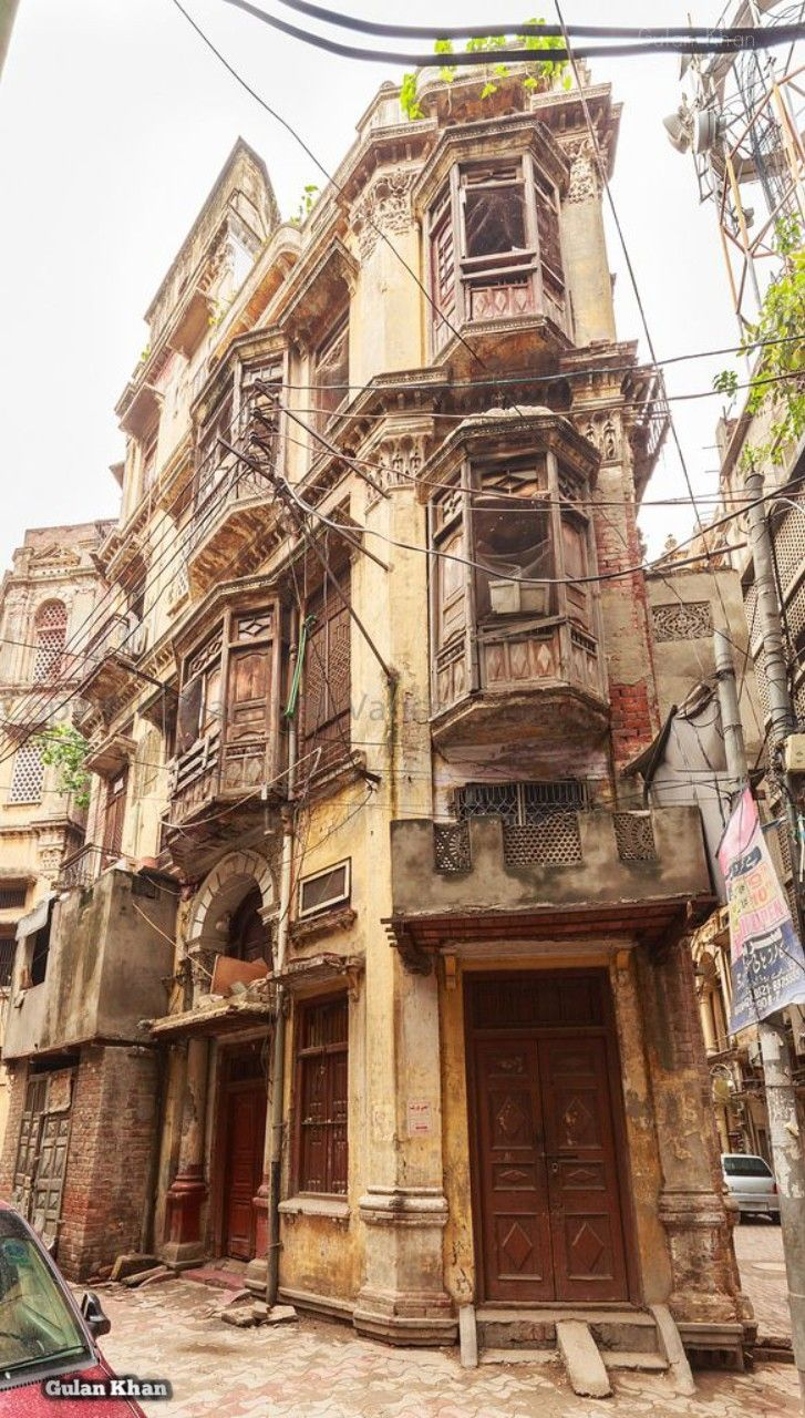 PAKISTAN Awesome beauty of old building at Lahore, Punjab, Pakistan
