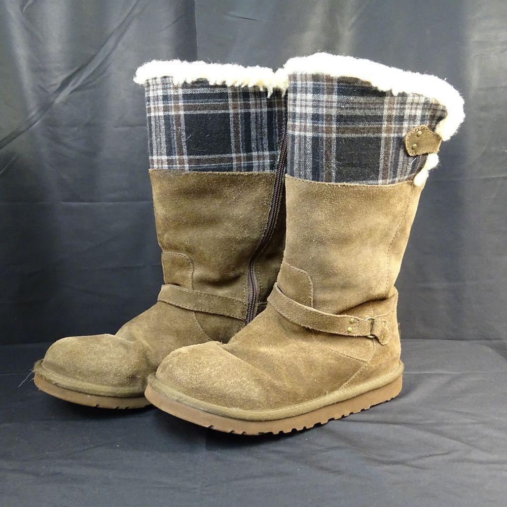 UGG Boots Australia Size 6 Fur Lined Genuine Sheep skin