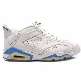 Big Discount 66 OFF Air Jordan Retro 6 Low University Blue White 304401141