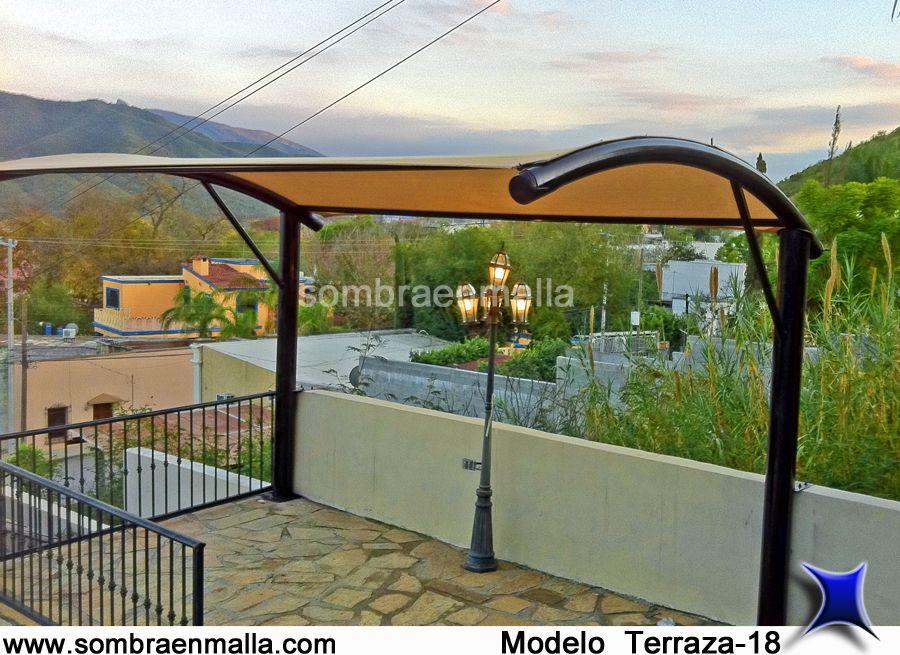 Terraza velarias pinterest terrazas cochera y for Terrazas azoteas