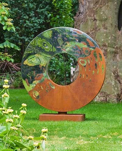 Metal Garden Sculpture Metal Sculptures Garden Steel Sculpture