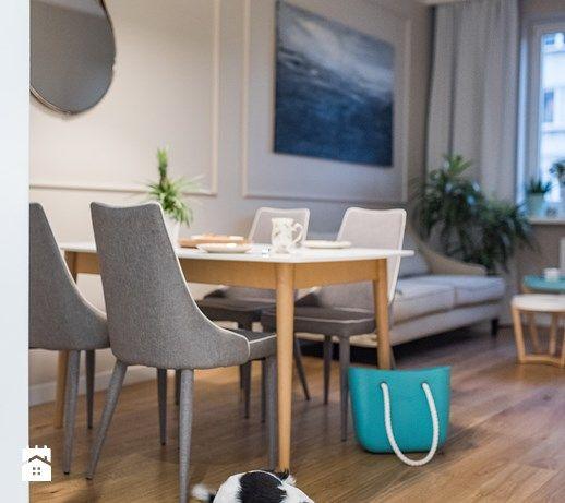 Mieszkanie w Warszawie Jadalnia styl nowoczesny zdjęcie od wz