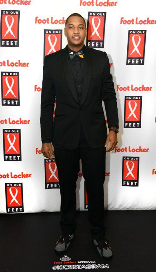 "d1d2a9eab824 Carmelo Anthony in the Air Jordan 7 ""Bordeaux"""