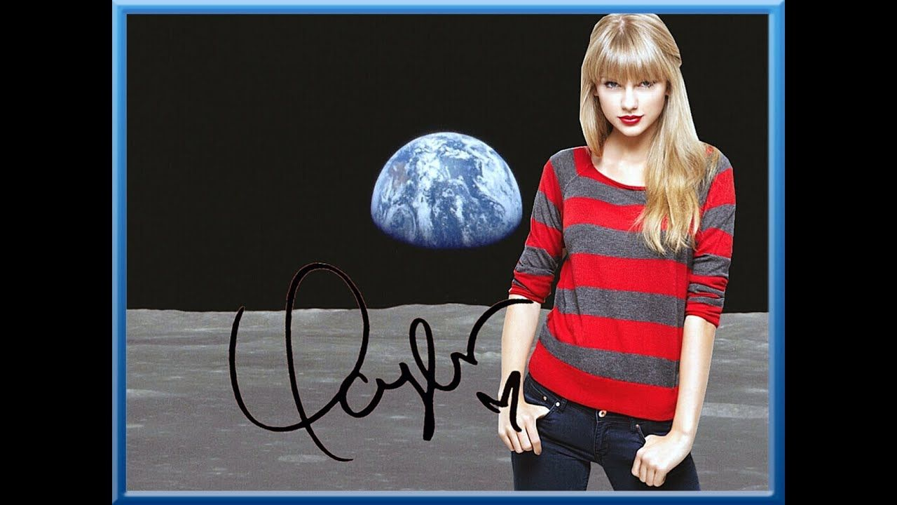 Created and Hand-signed by TAYLOR SWIFT! #greatnames