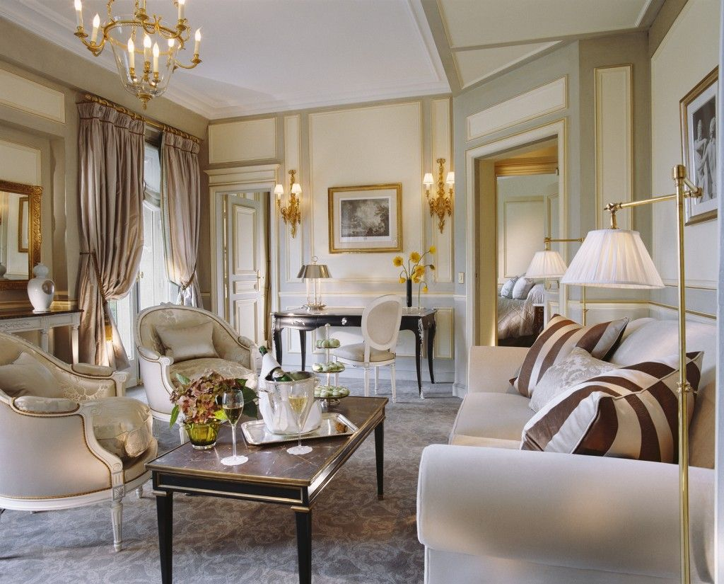 White chairs. Oval Louis chair. White. Gold. Sconces ...