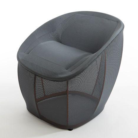 Benjamin Hubert   Membrane :this Armchair By London Designer Benjamin Hubert  Weighs Just Three Kilograms