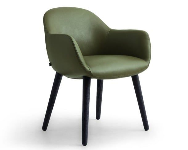 Mad Dining Chair Poliform Small Armchair Designed By Marcel Wanders For Is A With Wooden Legs
