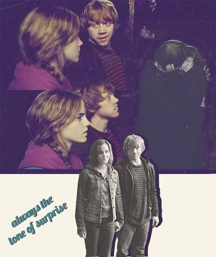 And ron granger love story weasley hermione Harry Potter: