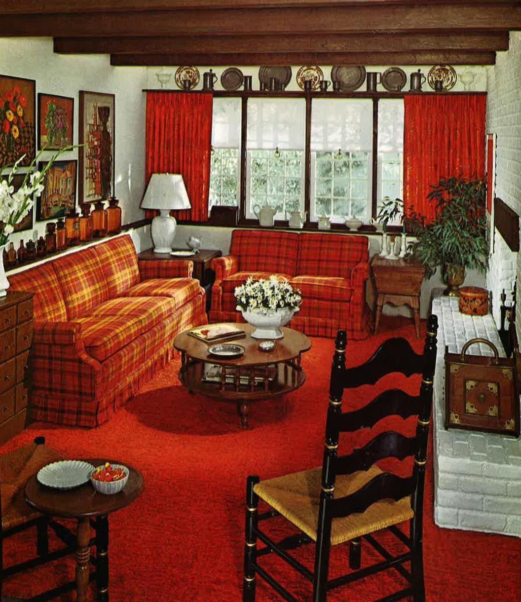 Ethan allen 1972 living room