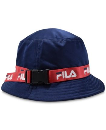 2fef6fb35 Fila Satin Bucket Hat - Blue | Products in 2019 | Baseball hats ...