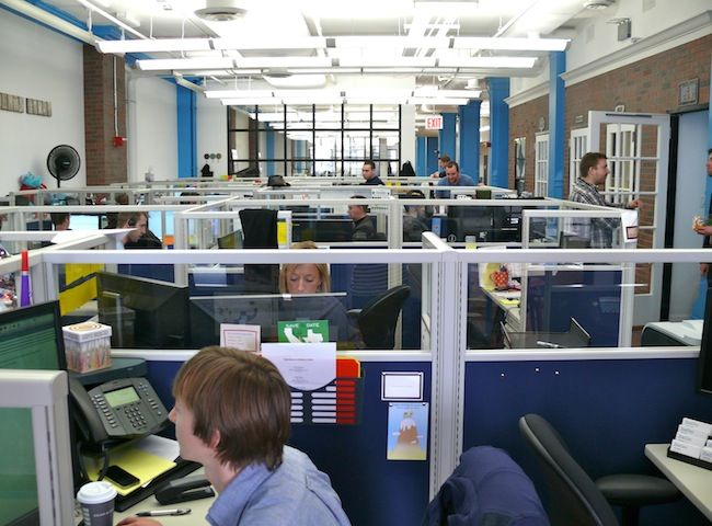 ZocDoc's NYC office space   Office Culture   Resume services