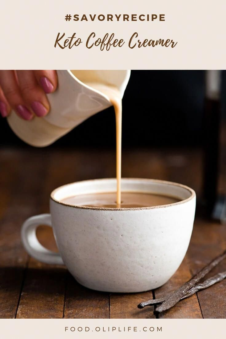 keto italian sweet cream coffee creamer