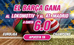 el forero jrvm y todos los bonos de deportes: wanabet supercuota 6 a la victoria del barcelona b...