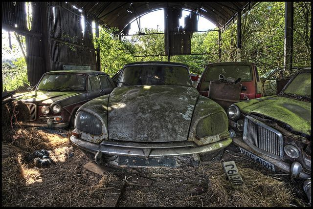 Vintage Decay Corroding Classic Cars In The Uk Voitures