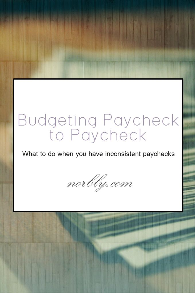 How to budget when you have inconsistent paychecks or if you are on a tight budget (paycheck to paycheck). Tips, tricks and ways to save each month. This is perfect for college students or 20-somethings with small paychecks or hourly-paying jobs.