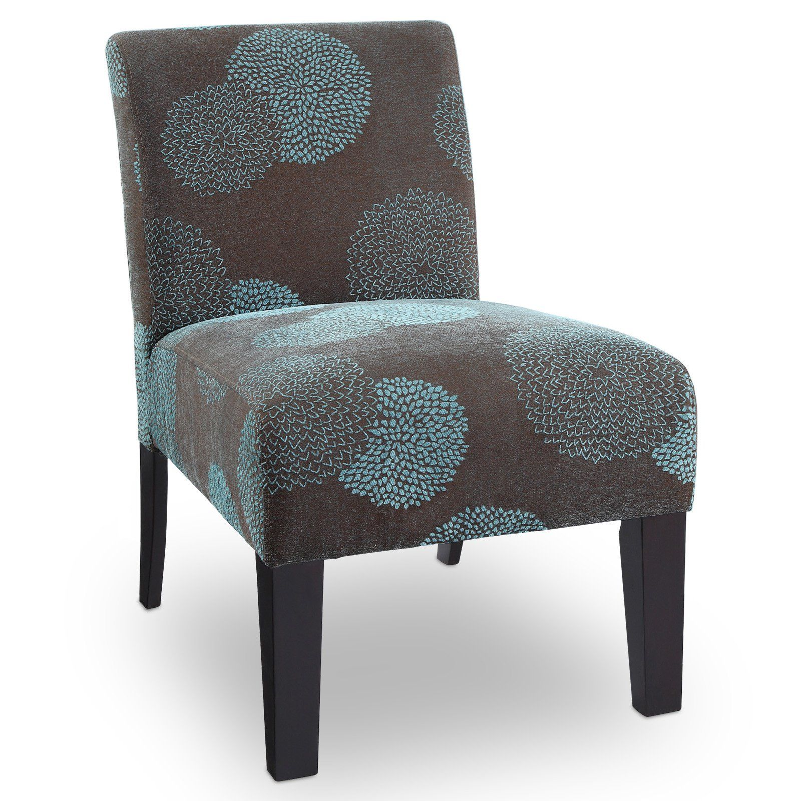 Best Deco Accent Chair Sunflower Blue In 2019 Upholstered 640 x 480