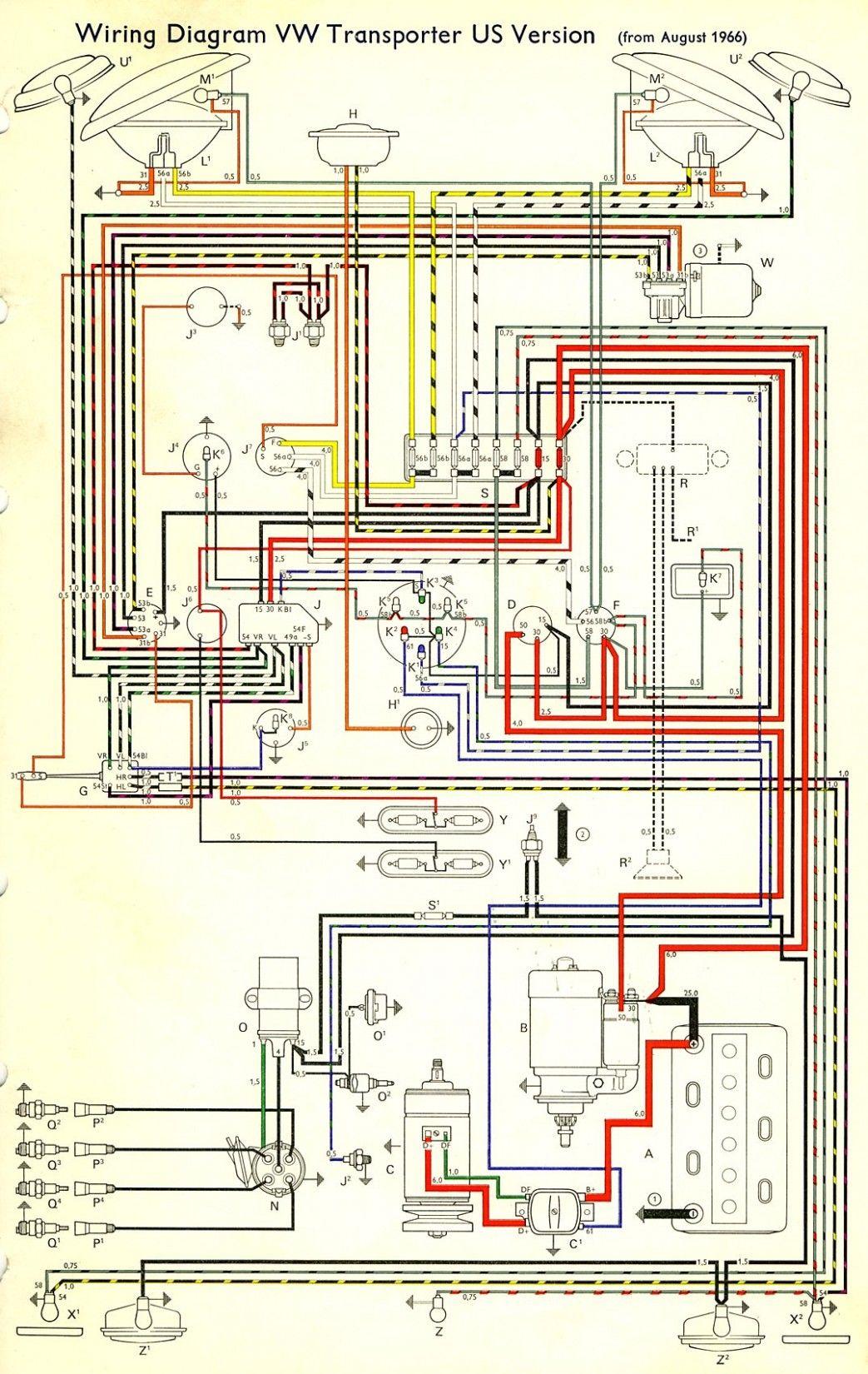 Vw T6 Engine Wiring Diagram Di 2020 Dengan Gambar