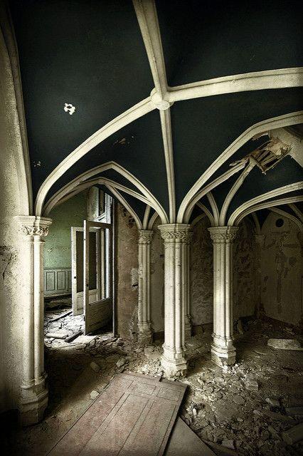 Rib-vault decay | View On Black | Richard Gubbels | Flickr