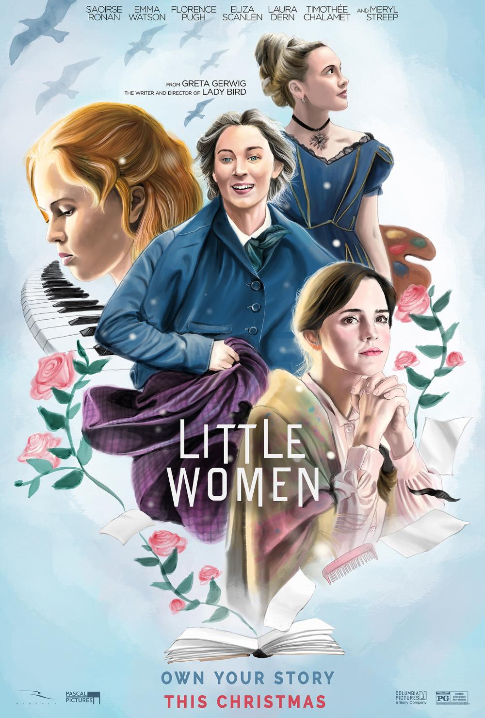 Little Women - Alternate Movie Posters on Behance en 2020 | Affiche de film, Films rétro, Idées ...