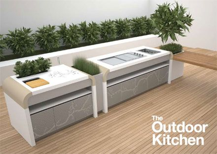 Kitchen Ideas On Jamie A Strong Advocate Of The Outdoor Room And An  Electrolux