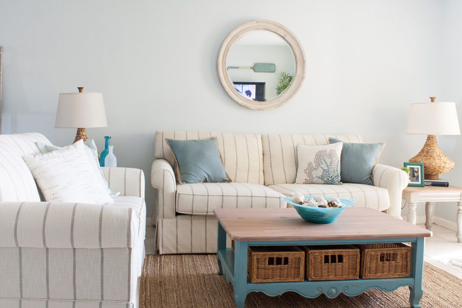 Beach Condo Living Room Decor Before And Afters Blogs The
