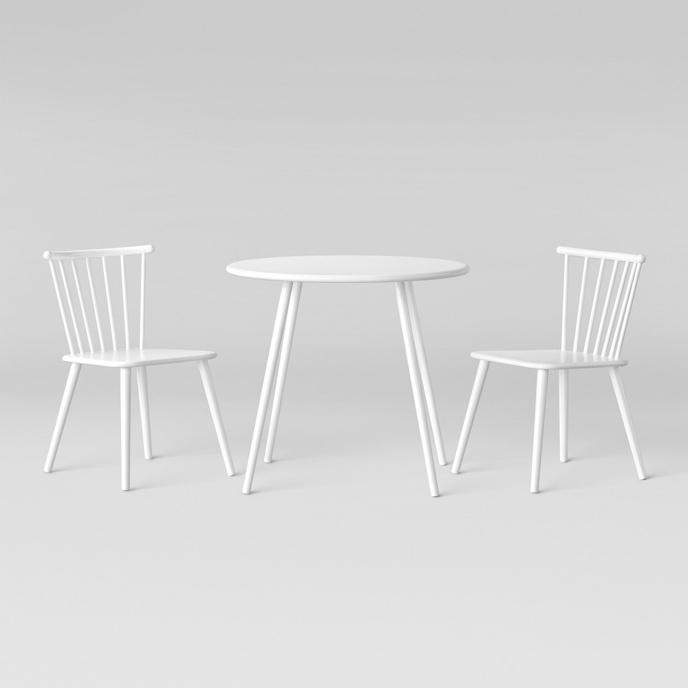 02e0dcee61c9 Metal Windsor Table And Chair Set White - Pillowfort