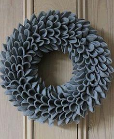 Decorative Christmas Felt Wreath