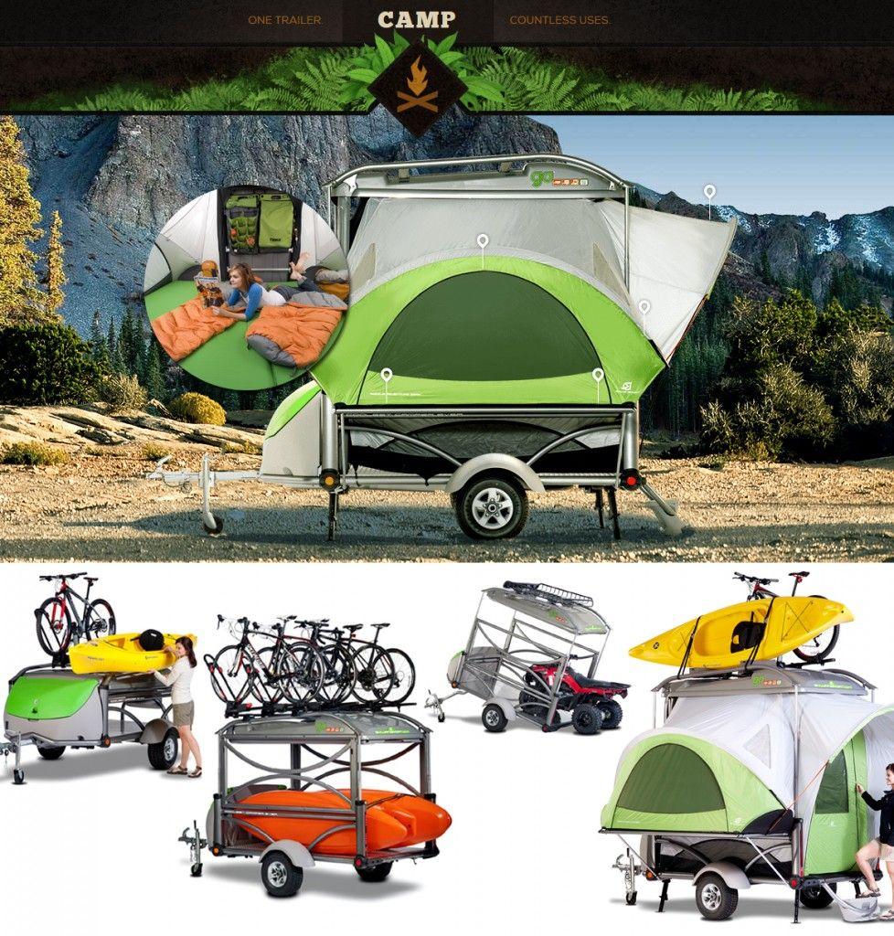 SylvanSport GO Remolque | Camping | Pinterest | Caravana ...