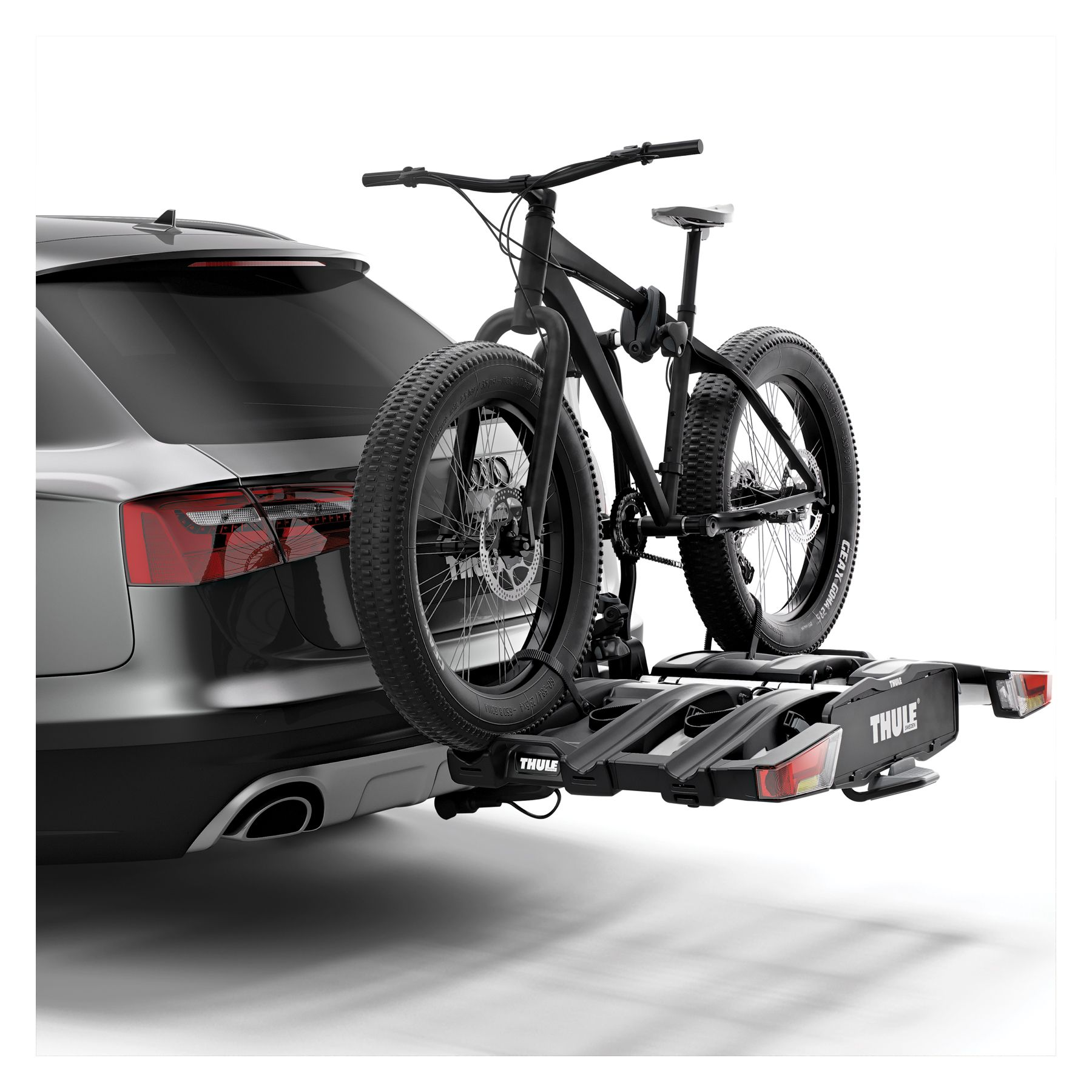 Our cycle carriers can even support the transportation of