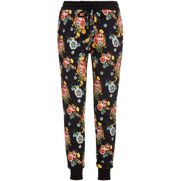 Markus Lupfer Fun Flower Jogging Pants ($270) ❤ liked on Polyvore