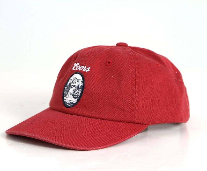 Brixton Coors Filtered Hat for Men in Red 00845-RED  cb0e137e142