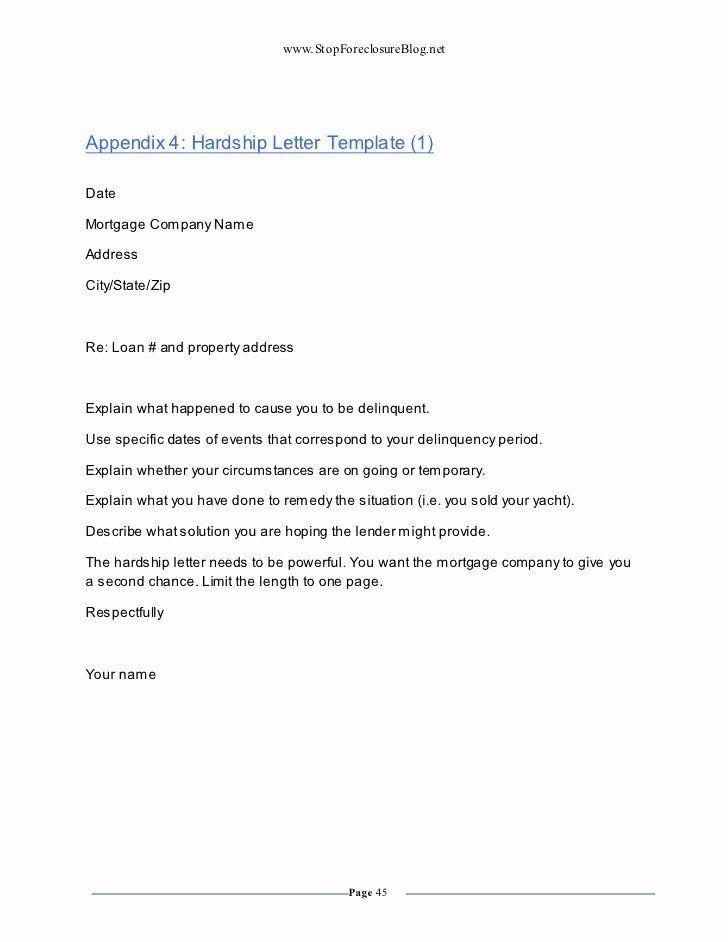 Refinance Letter Sample