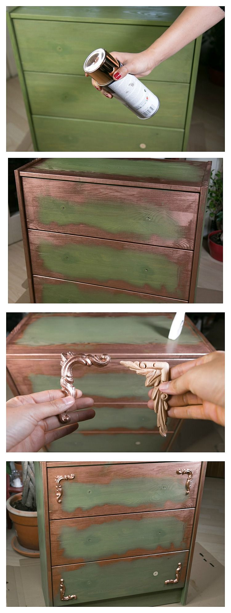 Used Look Möbel selber machen - kreativ und individuell Möbel ...