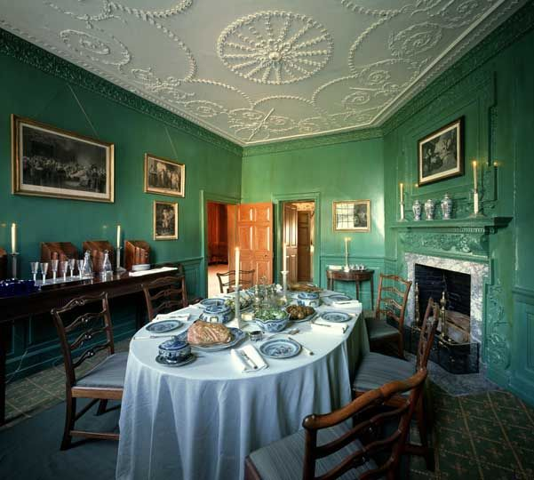 Mount Vernon Dining Room | Studio III: Hospitality | Pinterest ...