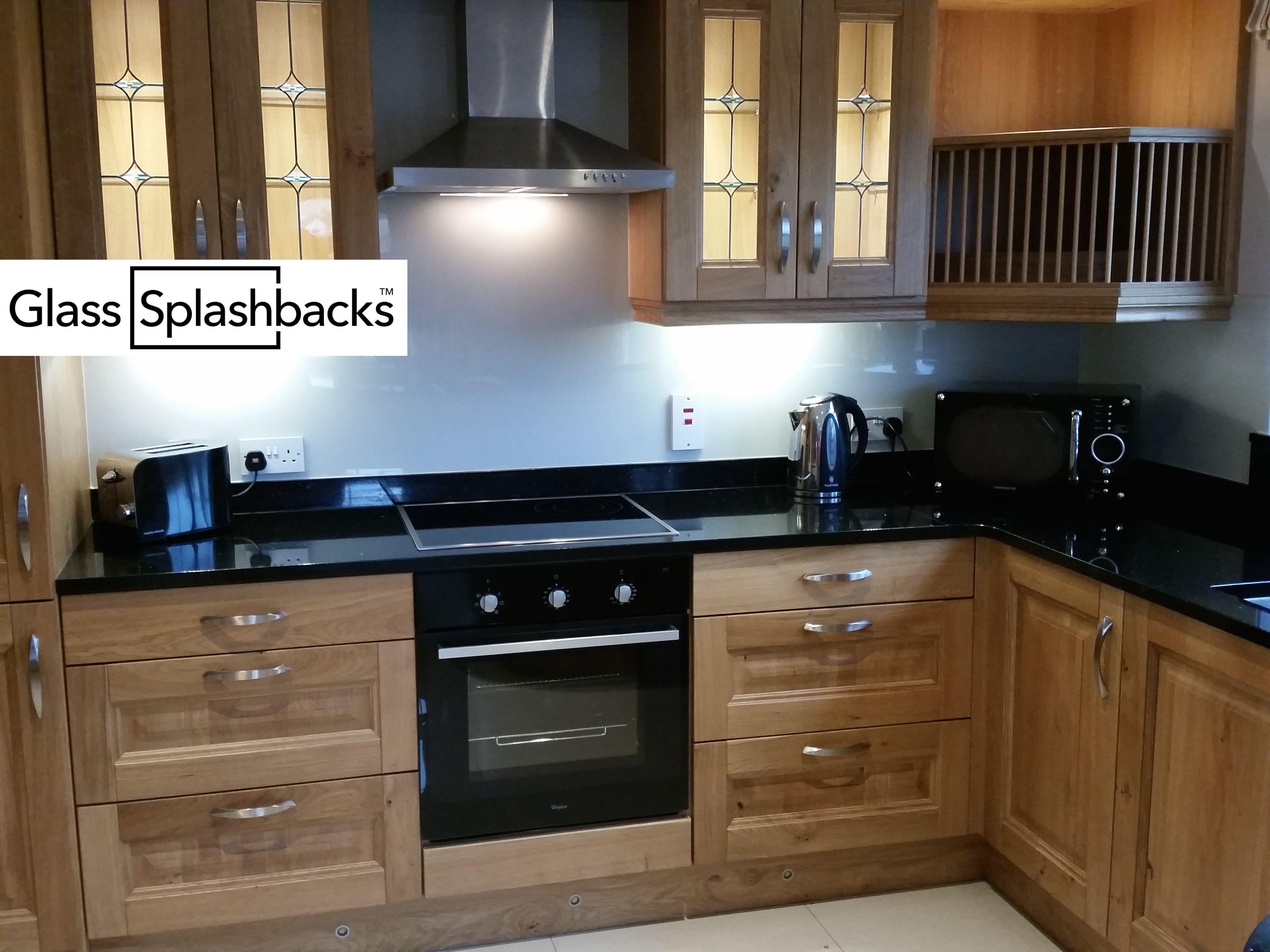 Modern Kitchen Splashbacks pale blue glass splashback. glass splashbacks are not reserved for