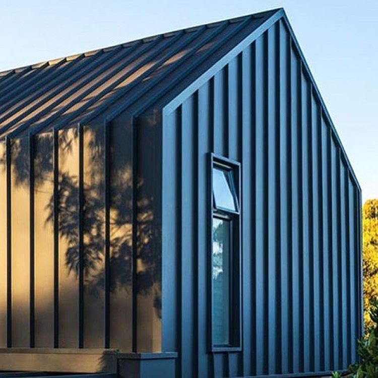 Dreaming Of Black Barn Houses Made From Metal Modernfarmhouse Barnhouse Summerhouse Monumentblack She House Cladding Roof Cladding Roof Architecture