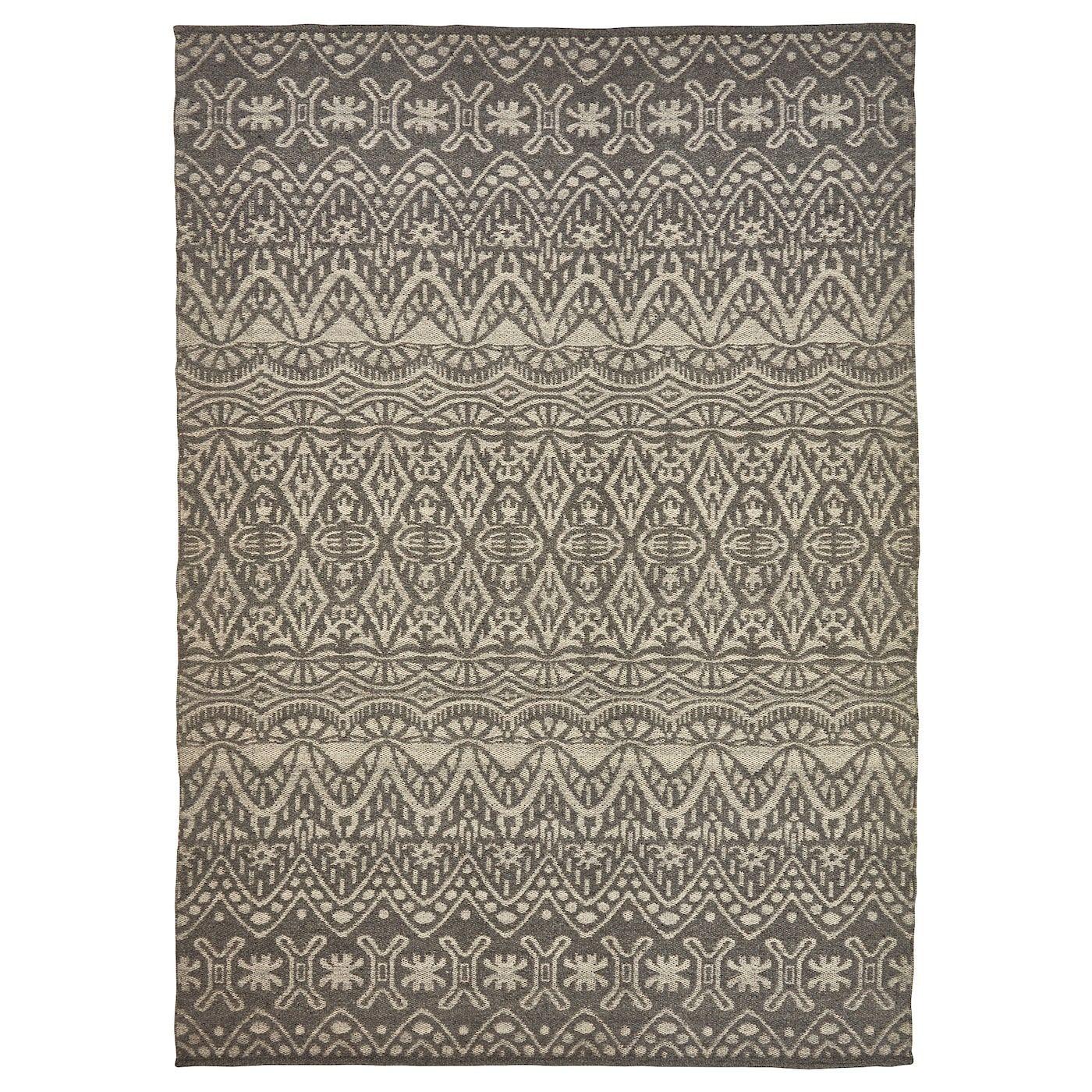 Bybjerg Teppich Flach Gewebt Beige 170x240 Cm Ikea Deutschland Teppich Flach Gewebt Teppich Wollteppich