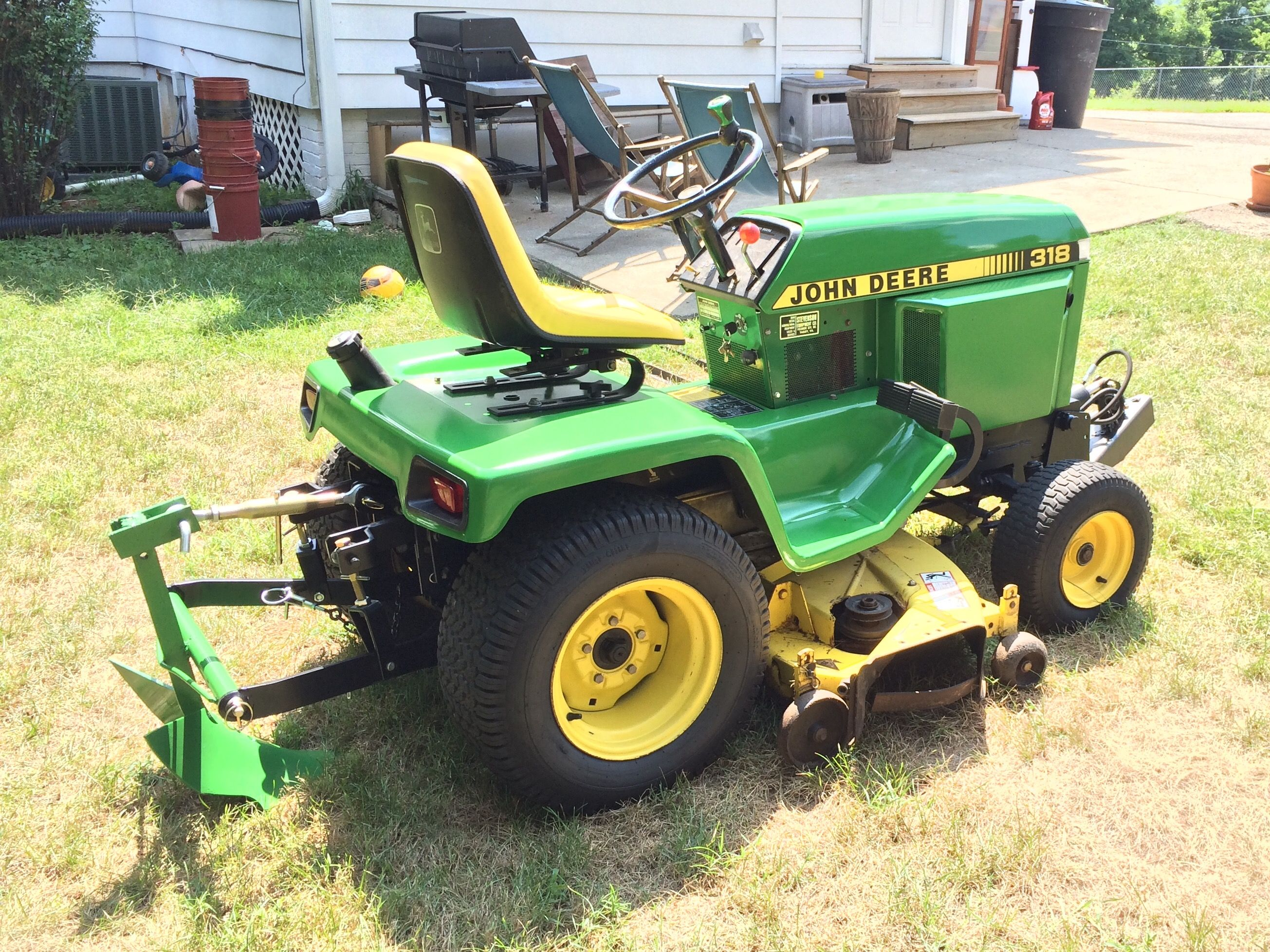 lawn shop new model hydraulic deck mowers gsa duty pwr equipment garden and repair sold hrs john tractor deere steering heavy tractors used mower