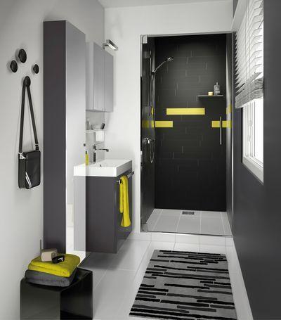 Aménager petite salle de bains 3, 4, 5, 6 m2 | Salle de bains, Salle ...