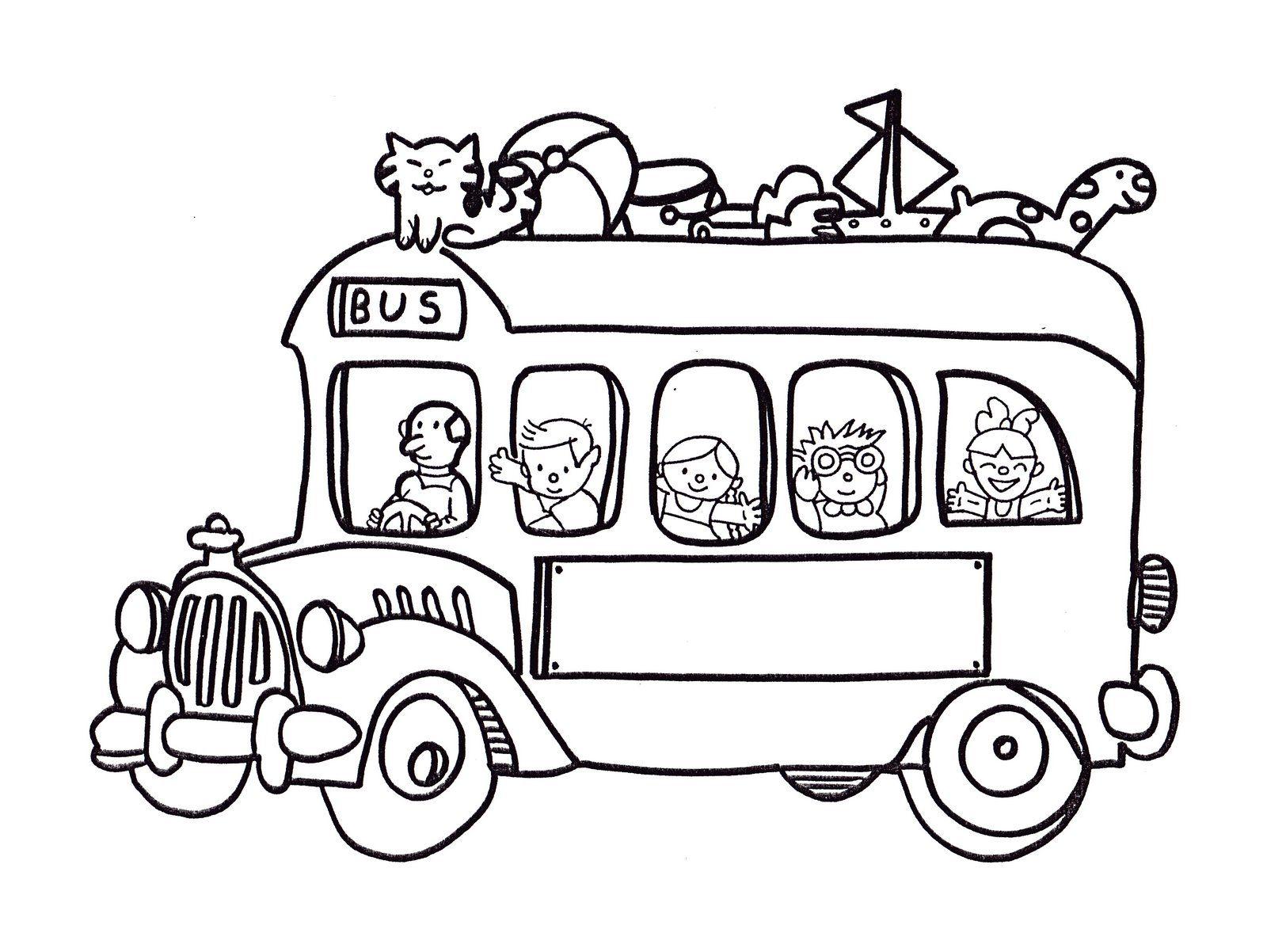 Dibujos para colorear de transportes: Coches, barcos, trenes