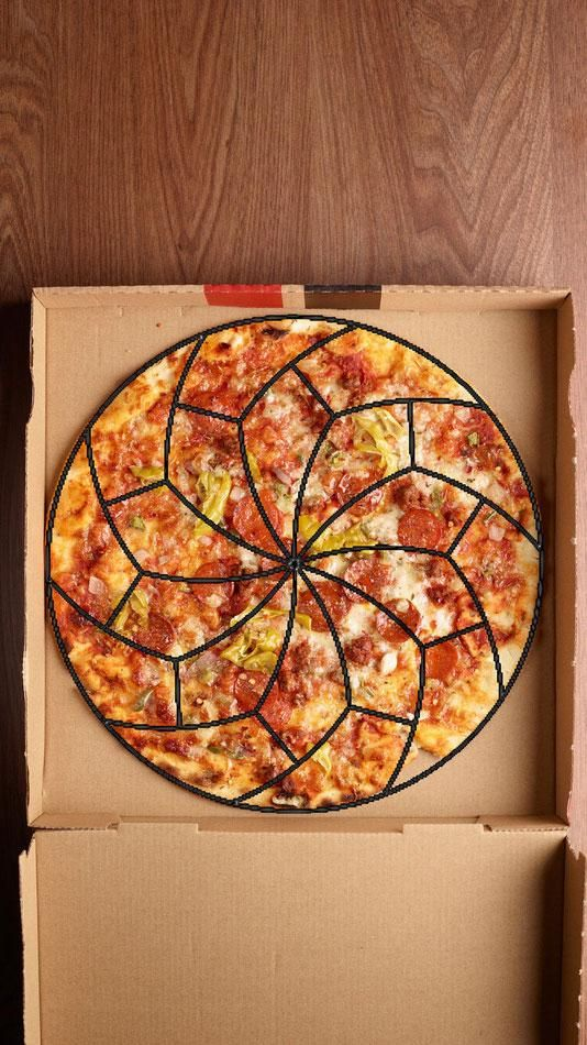 These mathmaticians cracked the code for perfect creating perfectly equal pizza slices
