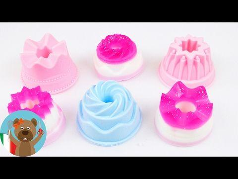 Mini gelatine di sapone Tortine di sapone fai da te super carine