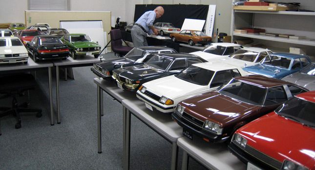 Check Out Toyota's Incredible Collection of Realistic 1:5 Scale
