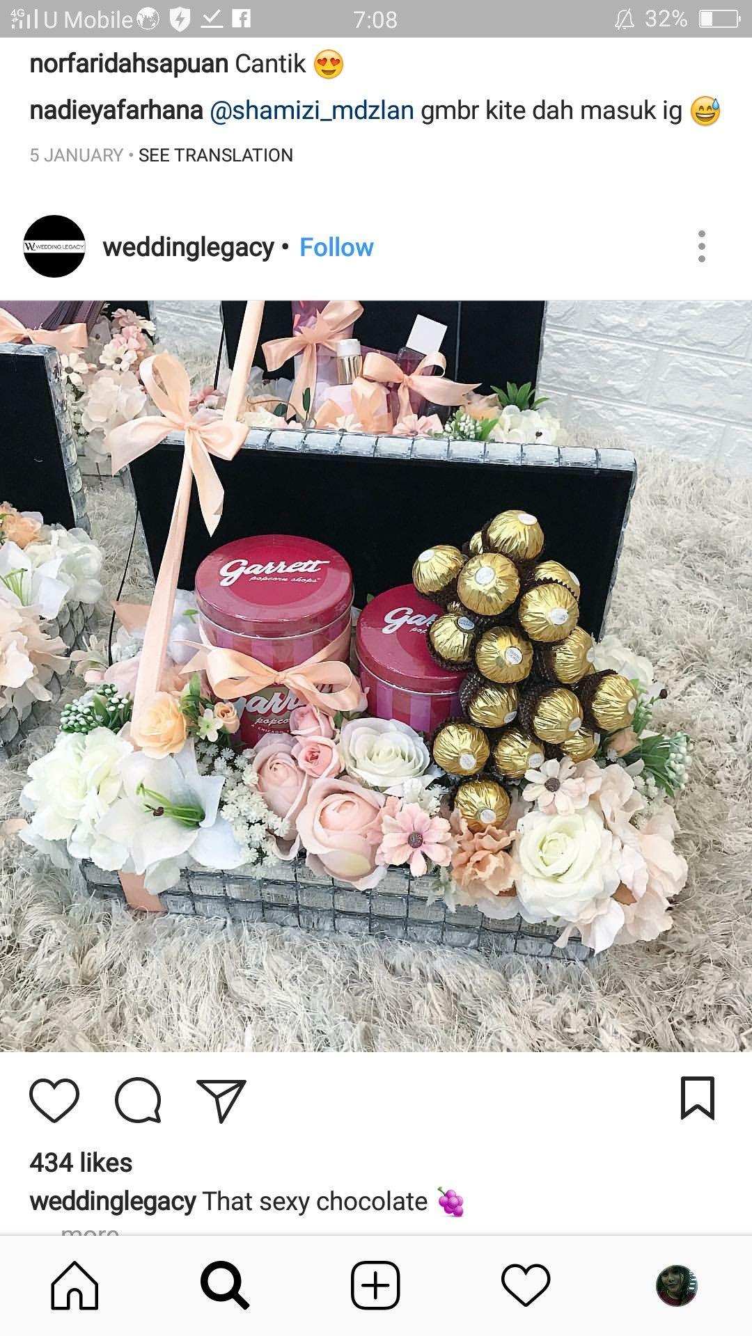 Pin By Zaryna Aidel On Dulang Hantaran Wedding Crafts Diy Wedding Decorations Gift Tray