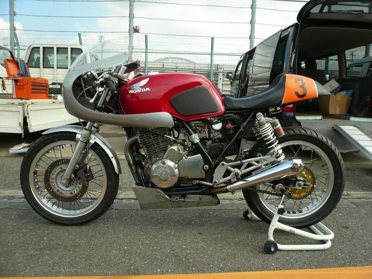 honda xbr500 cafe racer - google search   bikes that look right